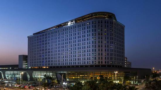 Hotel Aloft Abu Dhabi - 11 Popup navigation
